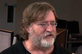 Valve's Gabe Newell. With beard.