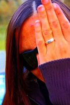 hiding giusy - woman hiding behind hands  - http://www.ipernity.com/doc/vir_db/6454426