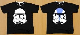 Star Wars - Clone Helmet T-Shirt -  http://joelercio.deviantart.com/art/Star-Wars-Clone-Helmet-T-Shirt-285973595