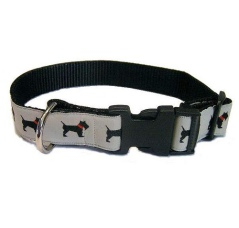 A picture of a dog collar.