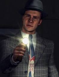A picture of Jack Kelso holding a torch.