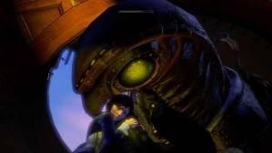 Songbird holding Elizabeth from Bioshock: Infinite.