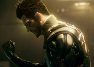 Adam Jensen, without glasses for once. He's so brooding...