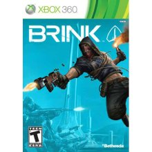 The cover art of Brink for the Xbox 360.