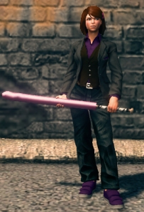 The discrete Japanese version of Saints Row The Third's Penetrator Baseball Bat.