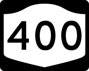 It's the number 400.