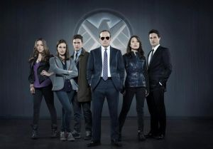 The Agents of SHIELD team. Skye, Simmons, Fitz, Coulson, May and Ward. Too many people for covert operations, too few for an effective taskforce.