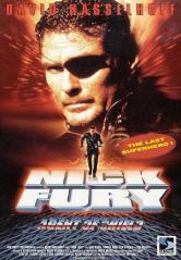 "A DVD cover for ""Nick Fury: Agent of SHIELD"" starring David Hasselhoff"