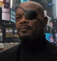 A picture of Samuel L. Jackson as Nick Fury