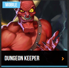 It's the mobile version of Dungeon Keeper, which received horrible reviews.