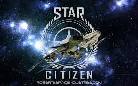 A logo for Star Citizen