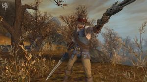 A Witch Hunter out of Warhammer Online.