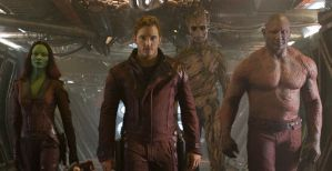 A still from Guardians of the Galaxy.