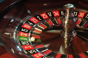 A roulette wheel, which is completely fair, except that the house wins most of the time.