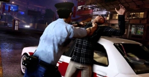 Beating up an opponent in Sleeping Dogs' Year of the Snake DLC.